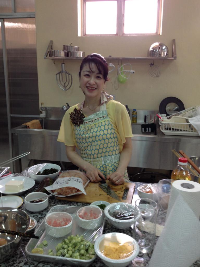 ジェネリーノの主婦料理家、國行志保先生